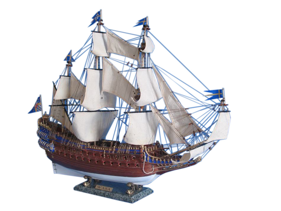 """Wasa Limited Tall Model Ship 32"""" by"""