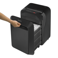 Fellowes Powershred LX210 Micro-cut Paper Shredder, Black