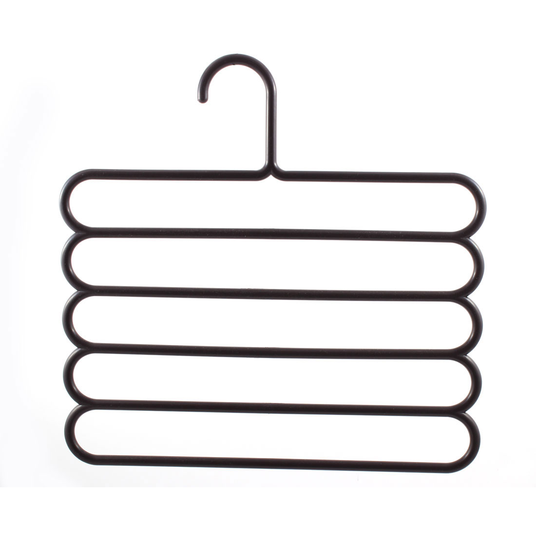 Five Layers Anti-slip Scarf Towel Clothes Trousers Closet Holder Rack