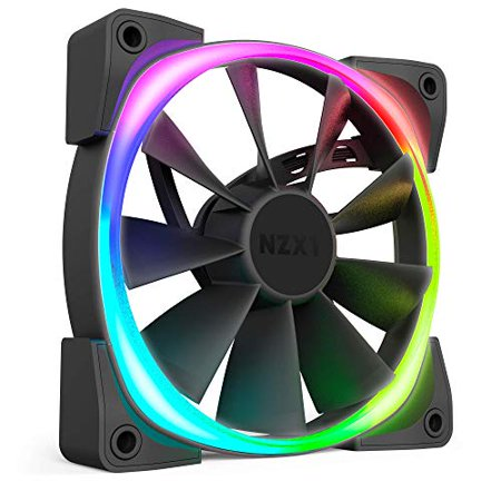 NZXT Aer RGB 2 HF-28120-B1 120mm LED Case Fan for HUE 2 Powered by