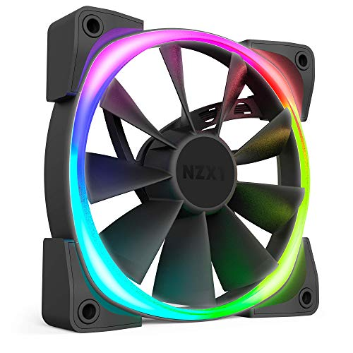 NZXT Aer RGB 2 HF-28120-B1 120mm LED Case Fan for HUE 2 Powered by CAM