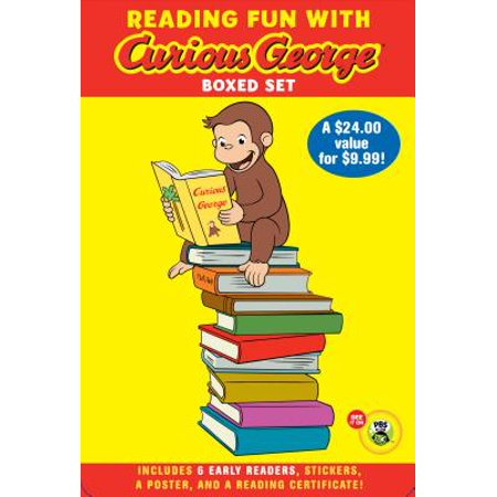 Reading Fun with Curious George Boxed Set (CGTV reader boxed set) - Curious George Birthday Ideas