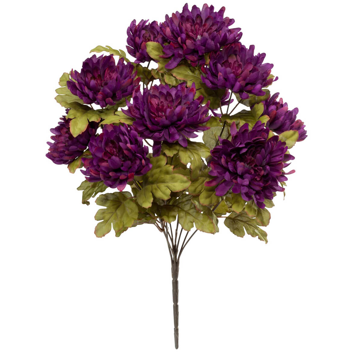 Artificial Mum Bush by OakRidge™ Silk Floral Décor