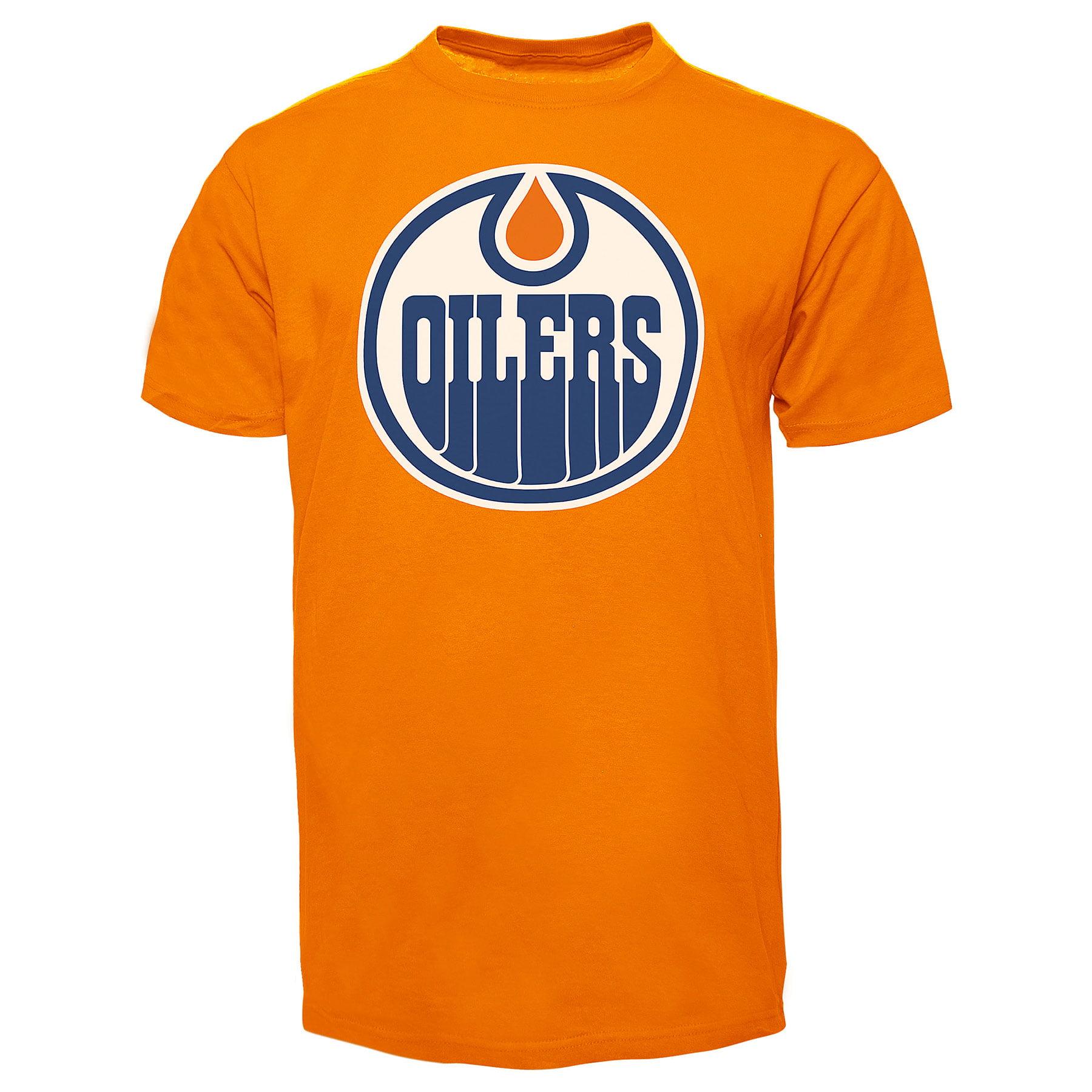 08bb52fb1a9 Edmonton Oilers NHL  47 Fan T-Shirt (Orange)