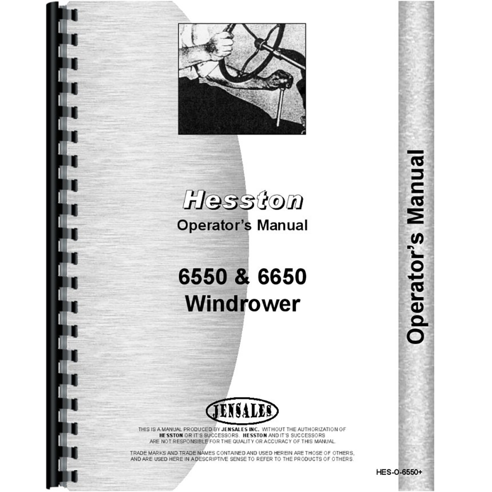 Hesston Swather Parts Manual 6650 482493 Defrost Timer Wiring Diagram New Windrower Operators Walmart Com Rh 6550