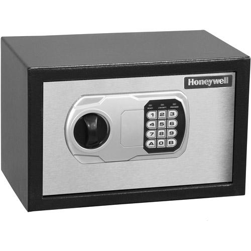 Honeywell 0.36 cu ft Steel Security Safe, Black