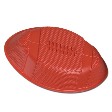 Plastic Football Food Serving Tray 12