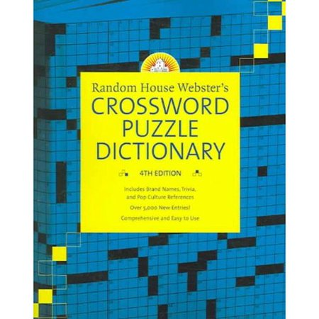 Random House Websters Crossword Puzzle Dictionary