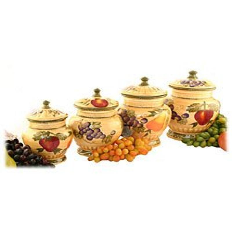 ecWorld Tuscan Collection Deluxe Hand-Painted 4-Piece Kit...