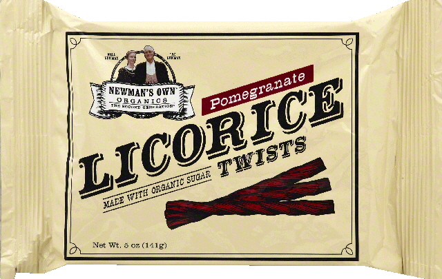 Newmans Own Organics Licorice Twists, Pomegranate by Newman's Own Organics