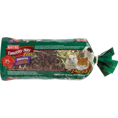CENTRAL - KAYTEE PRODUCTS, INC TIMOTHY HAY PLUS HIBISCUS 24OZ