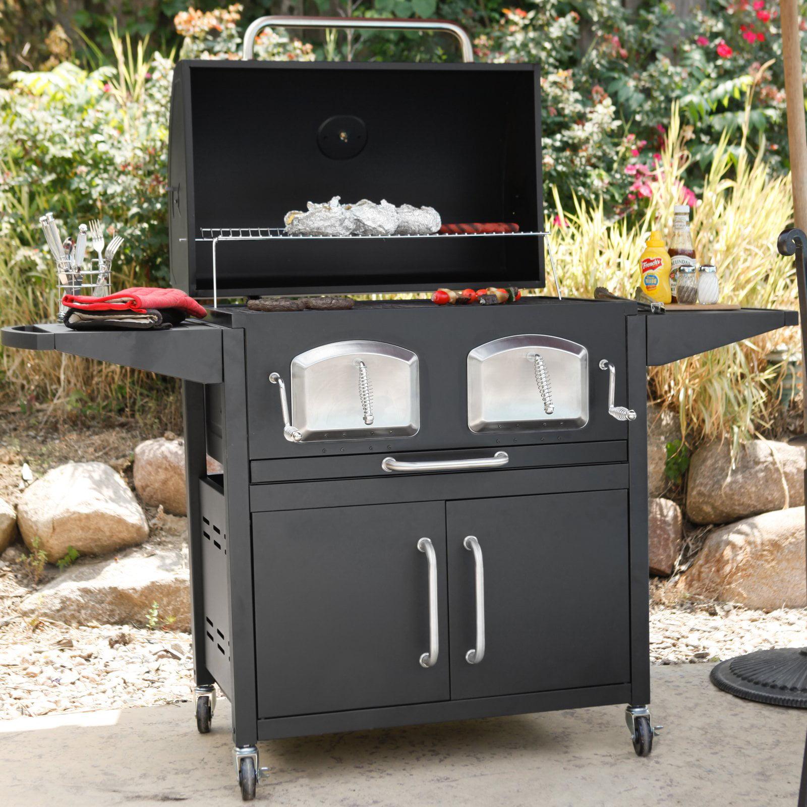 Landmann Smoky Mountain Bravo Premium Charcoal Grill Walmart