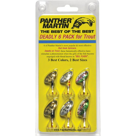 Panther Martin Best of the Best 6 Pack
