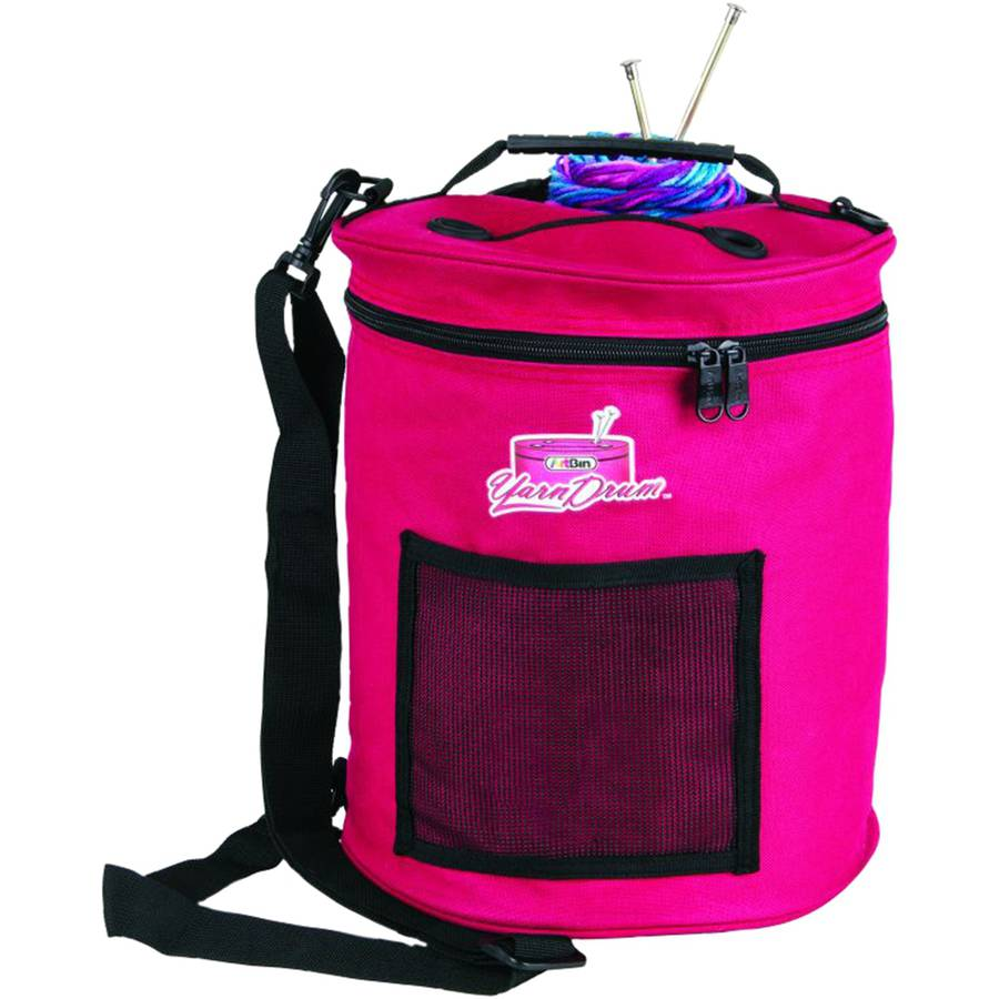 "ArtBin Yarn Drum, 12"" x 12.75"", Raspberry"