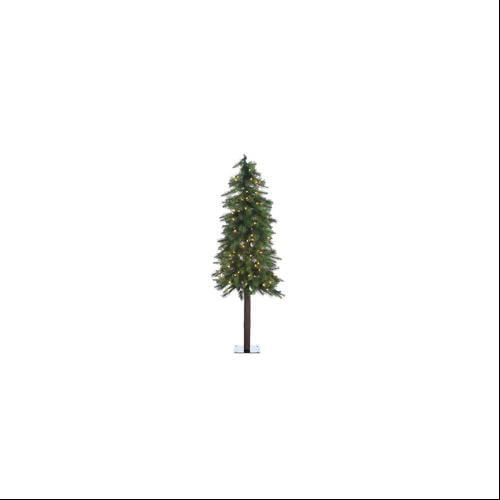 5' Pre-Lit Ozark Artificial Alpine Christmas Tree - Clear Lights