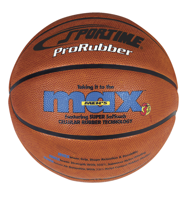SportimeMax Women's ProRubber Basketball, 28-1/2 Inches, Tan