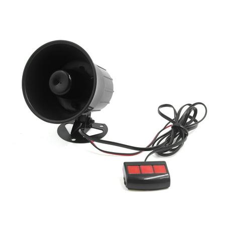 12V 15W Car 3 Tone Air Horn Loudspeaker Annunciator W Remote Control