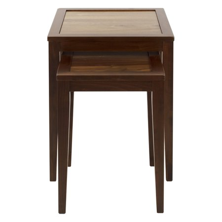 (Ashford Nesting Table with American Walnut Top)