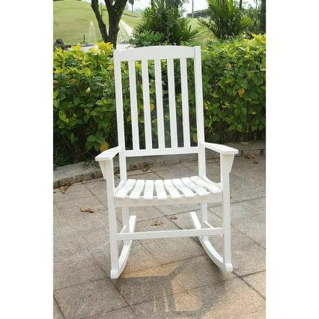 cambridge casual alston porch rocking chair white. Black Bedroom Furniture Sets. Home Design Ideas