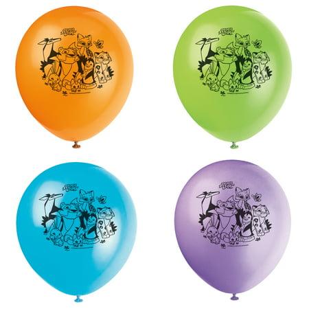 Latex Animal Jam Balloons, 12 in, 8ct (Animal Balloons)