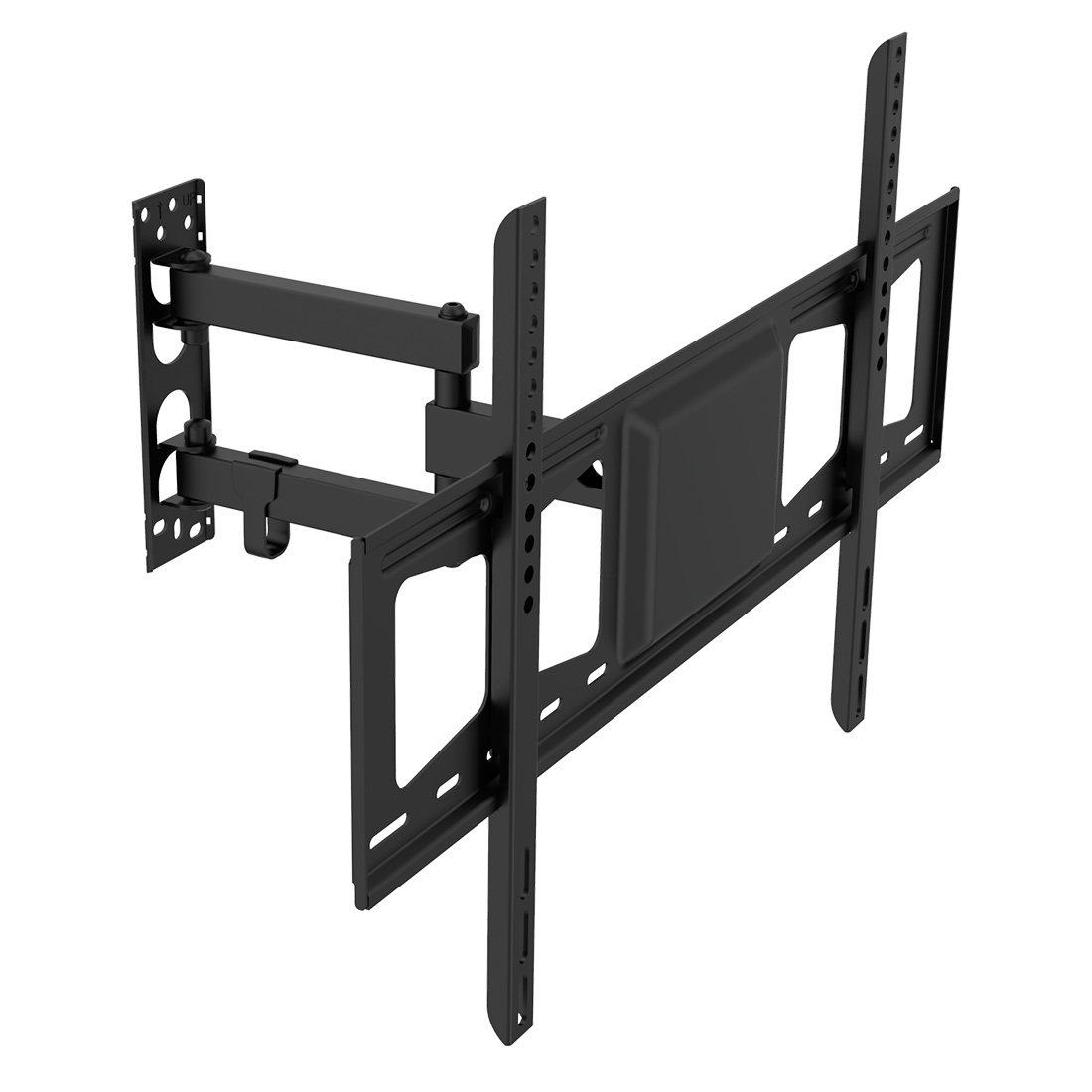 "Fleximounts A27 Articulating Full Motion TV Wall Mount for 32""-60""LED TV Flat Panel Screen with VESA 600x400"