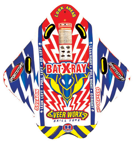 BAT X RAY PVC Towable by AIRHEAD SPORTS GROUP