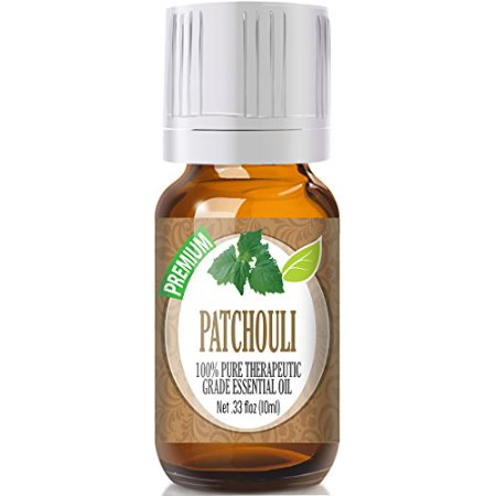 Healing Solutions - Patchouli Oil (10ml) 100% Pure, Best Therapeutic Grade Essential Oil - 10ml ()