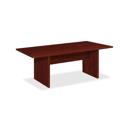 Basyx by HON Rectangular Conference Table with Slab Base BSXBLC72RNN