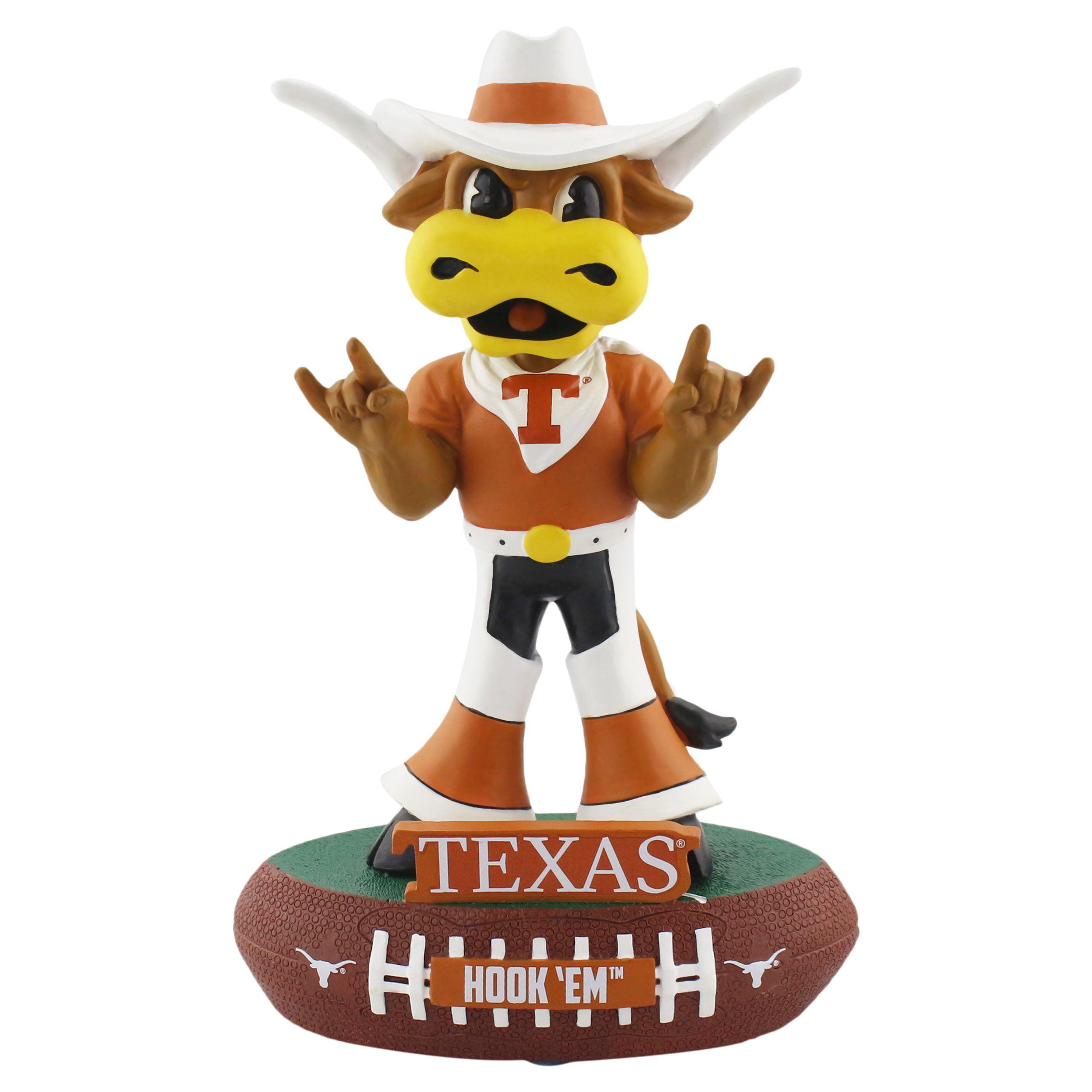 Texas Longhors Mascot Texas Longhorns Baller Special Edition Bobblehead NCAA
