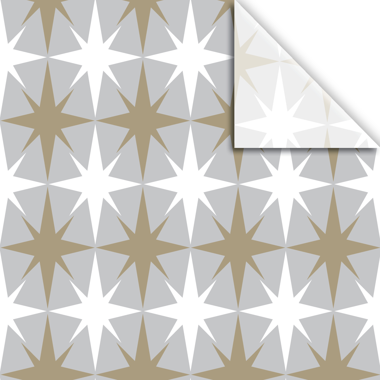 """Jillson & Roberts Printed Gift Tissue 20"""" x 30"""", Christmas Star (240 Sheets)"""