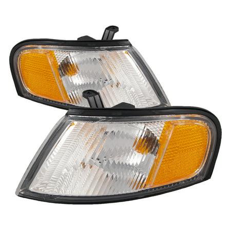 1998-1999 Nissan Altima New Headlights Set NI2520123 & NI2521123