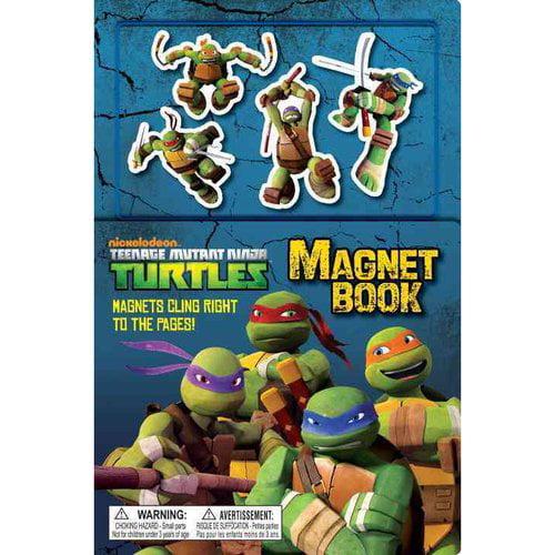 Teenage Mutant Ninja Turtle Magnet Book