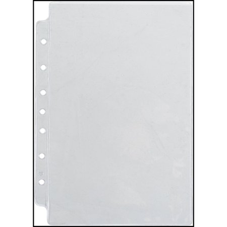 Day-Timer Top-Loading Vinyl Sheet Protectors Desk Size - Planner Tabs & Pockets (Pocket Protectors)