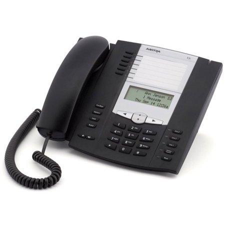Refurbished Aastra 6753i/53i-R Corded Expandable IP Phone