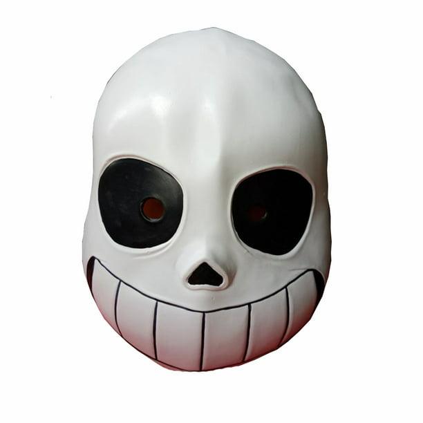 Sans Mask Undertale Game Skeleton Cosplay Costume Papyrus Anime Prop Overhead Walmart Com Walmart Com