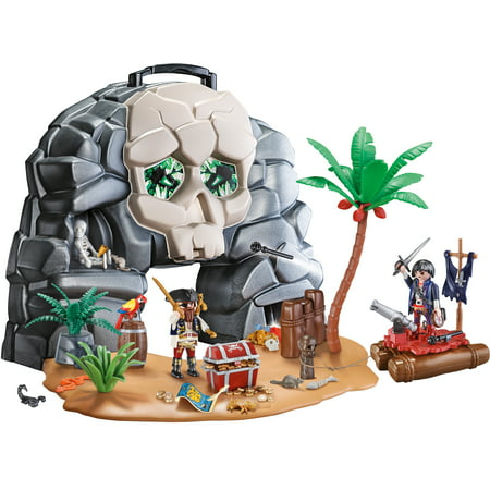 PLAYMOBIL Take Along Pirate Skull Island Now $19.94 (Was $39.99)