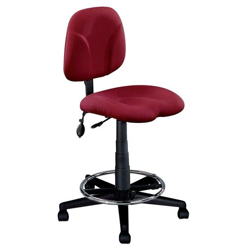 Mayline Group Comfort Swivel Task Drafting Chair with Arms
