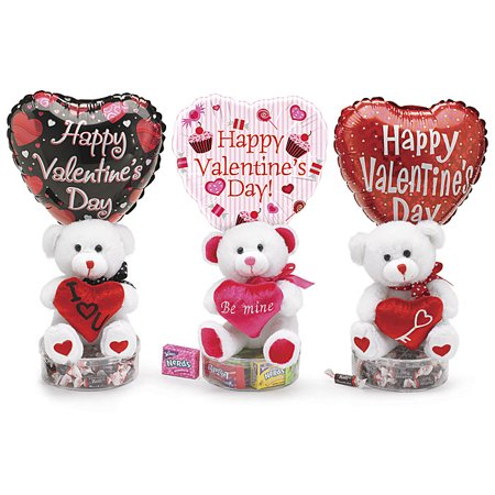 Teddy bear hugs valentine gift basket walmart teddy bear hugs valentine gift basket negle Images