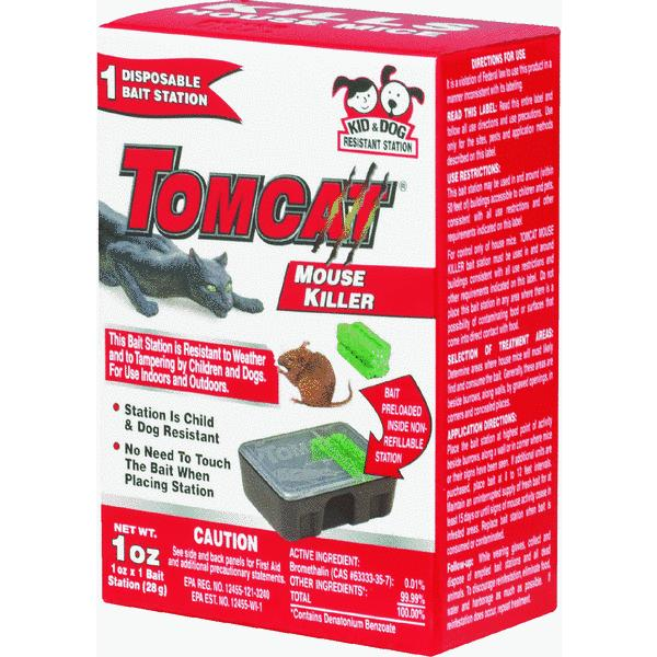 Tomcat Mouse Killer Disposable Mouse Bait Station