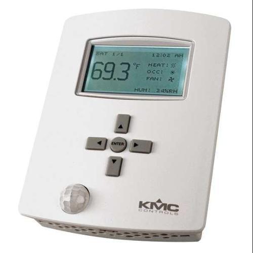 KMC CONTROLS BAC-121063CW Controller, 6 Relay, 3 Outputs, Occ Sensor