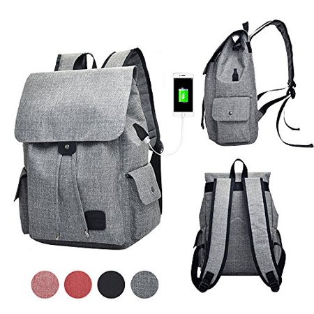 c342d848ef GuiShi(TM) Women Girls Casual polyester Backpack Purse Travel Work College  School Bag with ...