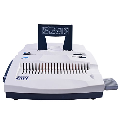 SAD-B30e Electrical Binding Machine for up to 2'' Plastic Comb 500 SHeets by SylArtDesign, Inc.