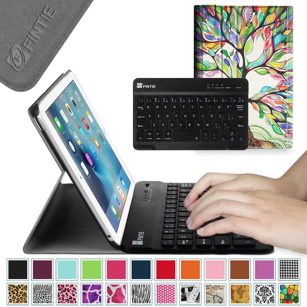Fintie iPad mini 4 Case - Ultra Slim Shell Lightweight Cover with Detachable Wireless Bluetooth Keyboard, Love Tree