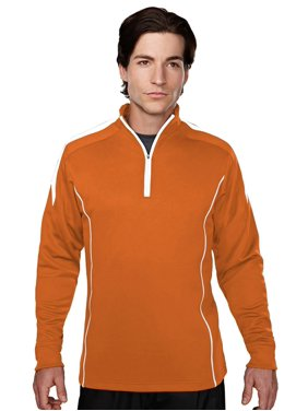 Tri-Mountain Men's Contrast Panels Mesh Pullover Shirt