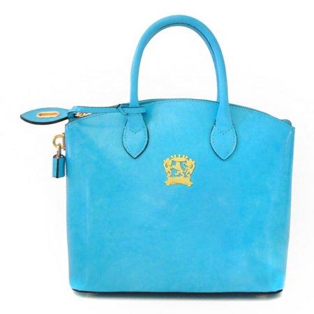 Pratesi Womens Italian Leather Versilia R Woman Cross body Radica Handbag
