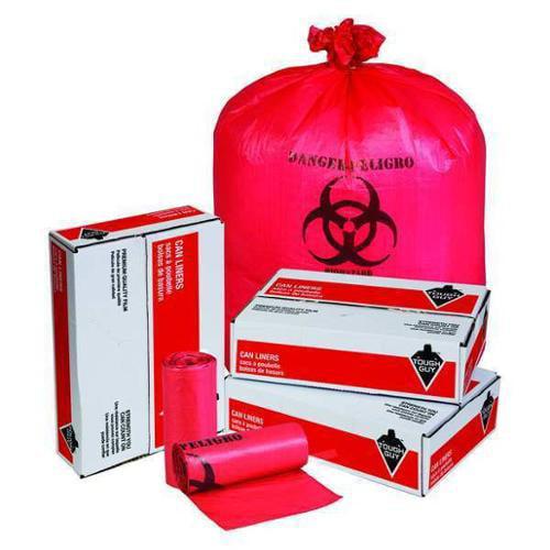 Tough Guy 31DK88 Red High Density Polyethylene 33 gal. Trash Bag
