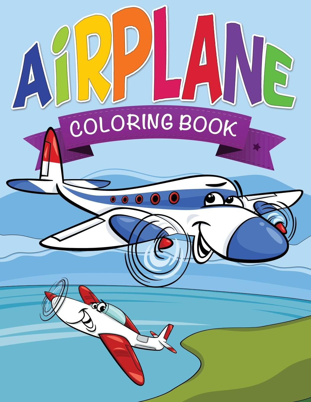 - Airplane Coloring Book For Kids (Paperback) - Walmart.com - Walmart.com