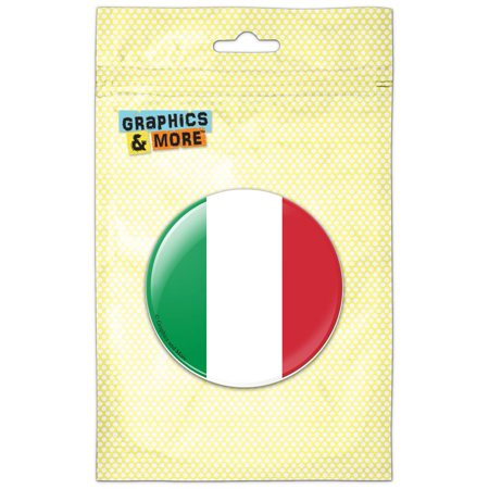 Italy National Country Flag Refrigerator Button Magnet