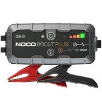 NOCO Boost Plus GB40 1000 Amp 12-Volt UltraSafe Lithium Jump Starter For Up To 6-Liter Gasoline And 3-Liter Diesel Engines