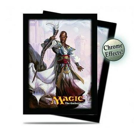 Magic The Gathering - 120 Commander Teferi Deck Protector Sleeves V4 - UPR86198 - Ultra Pro (Deck Protectors)